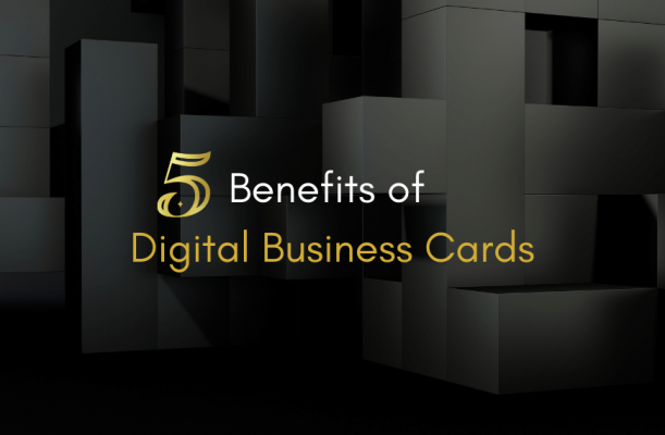 ICARD - 5 benefits of digital business cards