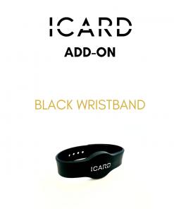 ICARD standard black wristband