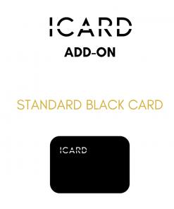 ICARD standard black card