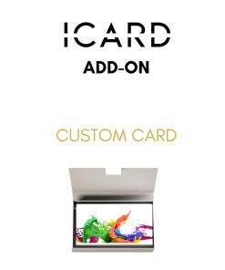 ICARD custom printed card