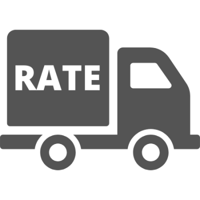 ICARD flat rate shipping